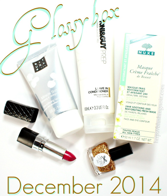 Glossybox December 2014 Swatches Review