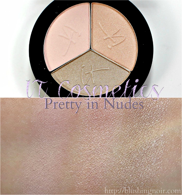 IT Cosmetics Pretty in Nudes Eye Shadow Swatches