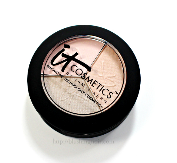IT Cosmetics Pretty in Nudes Luxe High Performance Eyeshadow Trio Review