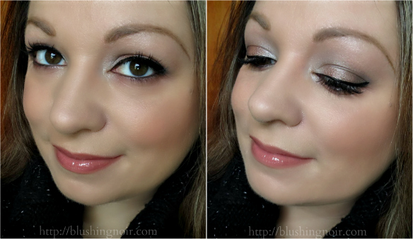 Make Up For Ever 50 Shades of Grey Give In To Me Makeup Kit Look