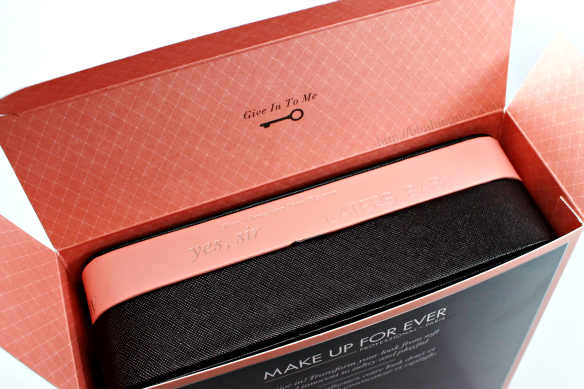 Make Up For Ever 50 Shades of Grey Give In To Me Makeup Kit
