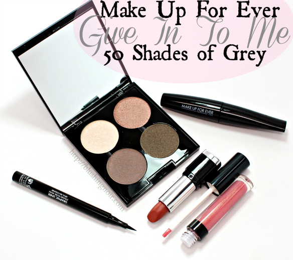 Make Up For Ever Give In To Me Makeup Kit Swatches Review