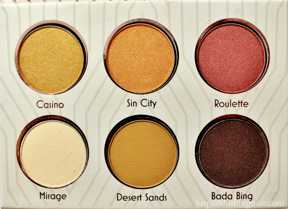 Makeup Geek Vegas Lights Eyeshadow Collection Review