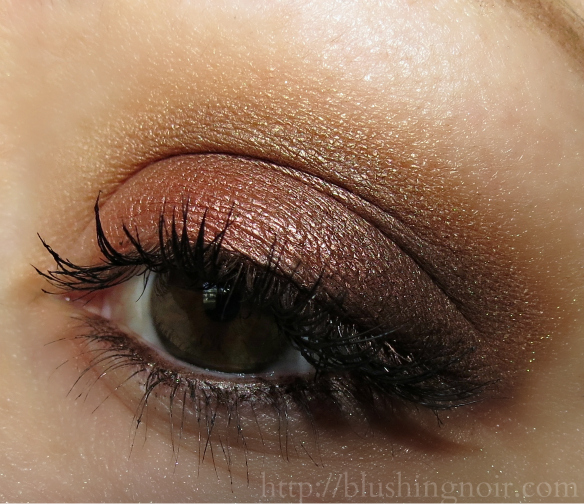 Makeup Geek Vegas Lights Eyeshadow Palette eye look