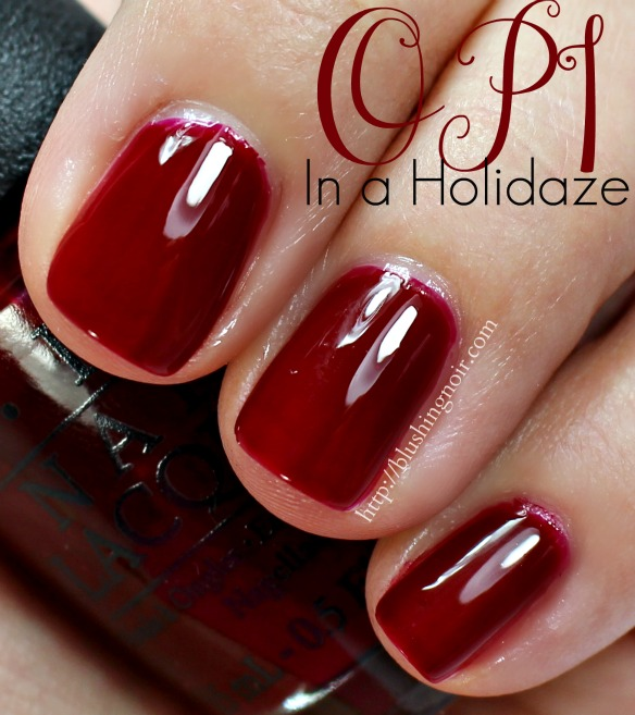 OPI In a Holidaze Nail Polish Swatches