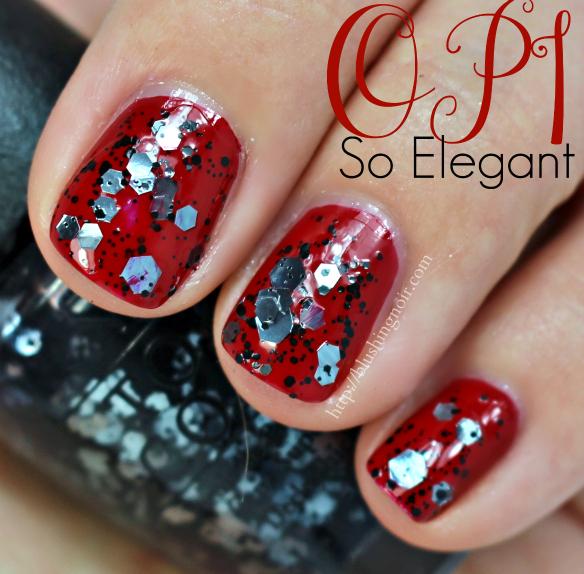 OPI So Elegant Nail Polish Swatches