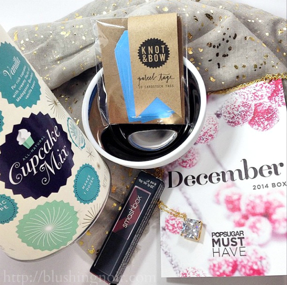 POPSUGAR Must Have Box December 2014 Swatches + Review