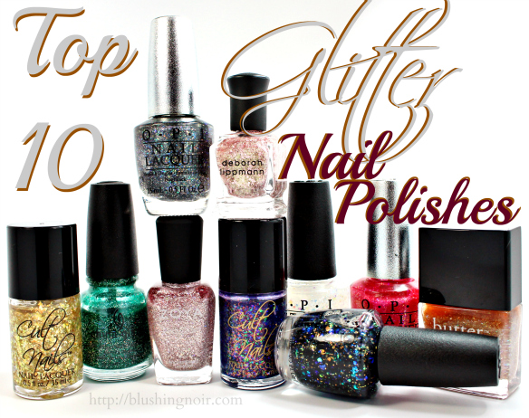 Top 10 glitter nail polishes and bling