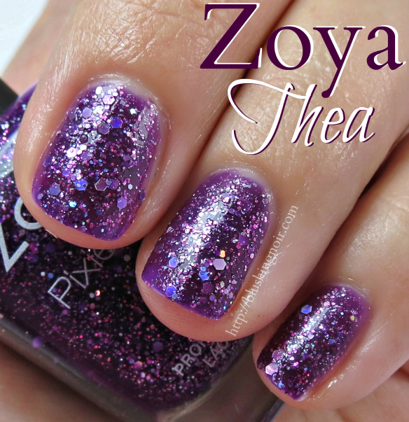 Zoya Thea Nail Polish Swatches