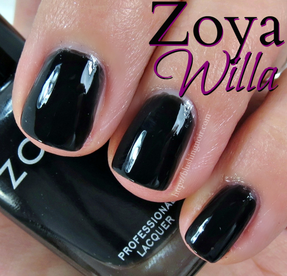 Zoya Willa Nail Polish Swatches