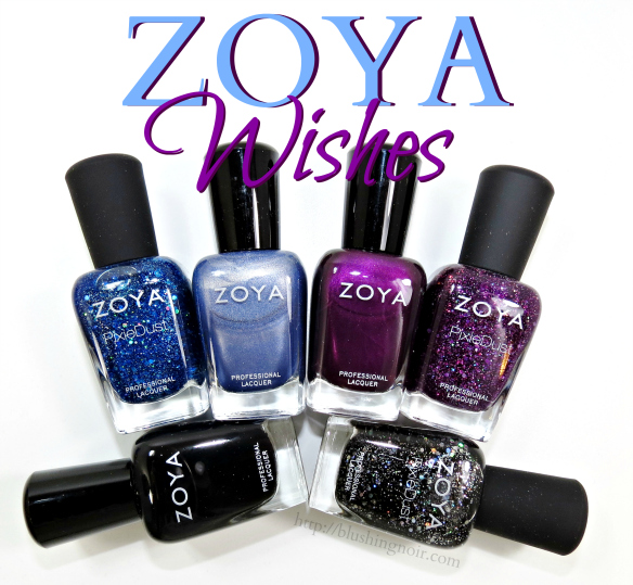 Zoya Wishes Nail Polish Collection Swatches Review