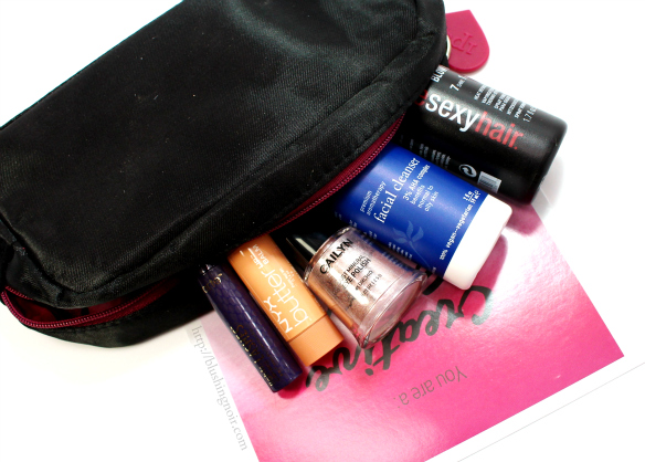 December 2014 ipsy Glam Bag Review & Swatches