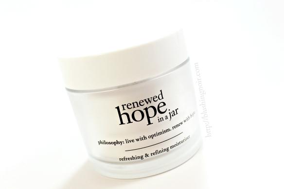 philosophy renewed hope in a jar review