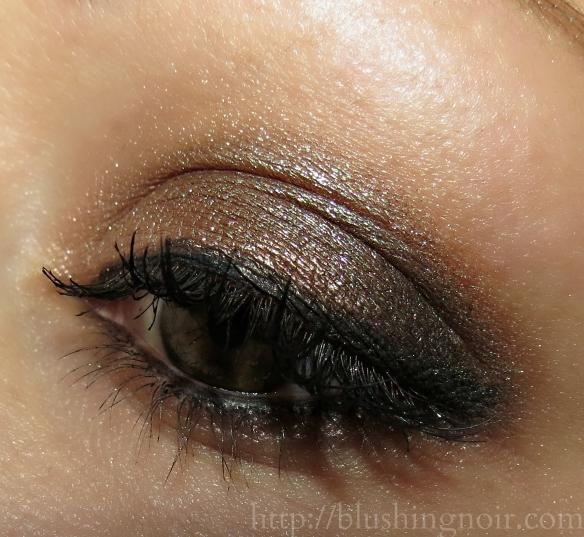 Charlotte Tilbury Fallen Angel Eyeshadow Palette eye look