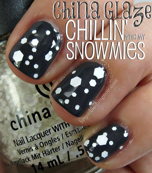 China Glaze Chillin With my snow-mies Nail polish swatches