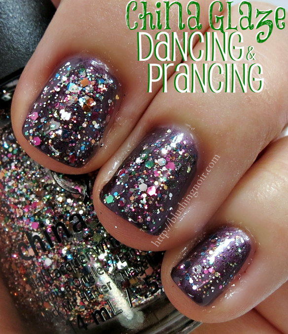 China Glaze Dancing & Prancing Nail Polish Swatches