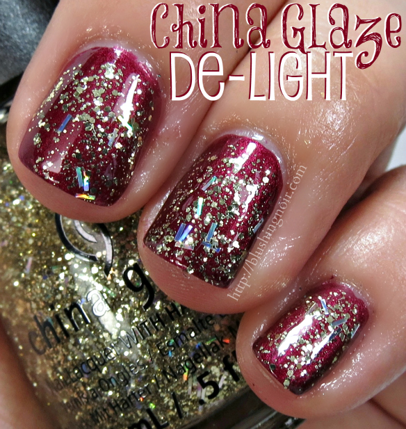 China Glaze De-light Nail Polish Swatches