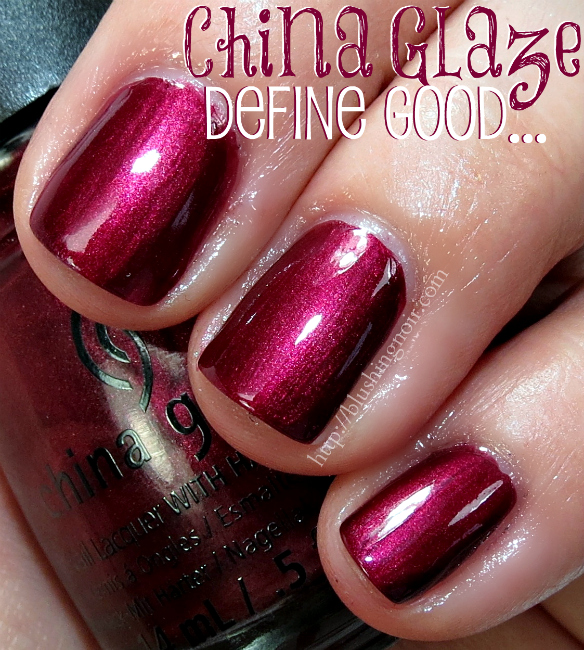 China Glaze Define Good Nail Polish Swatche flash