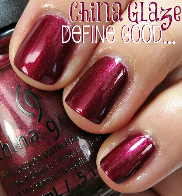 China Glaze Define Good Nail Polish Swatches