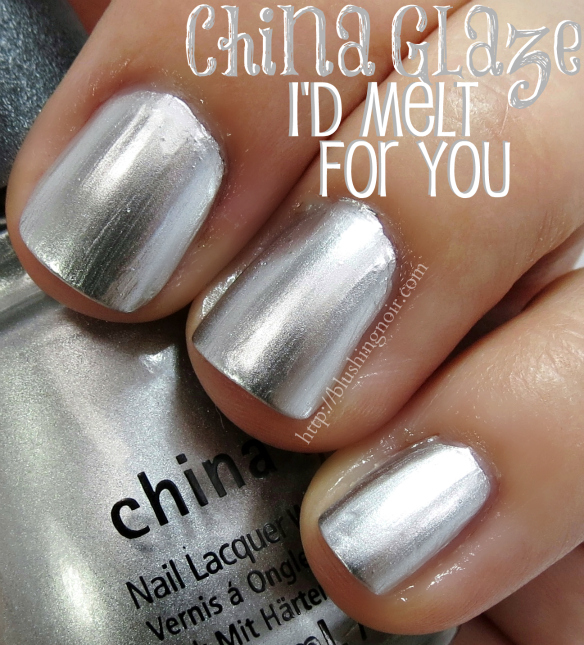 China Glaze I'd Melt for You Nail Polish Swatches