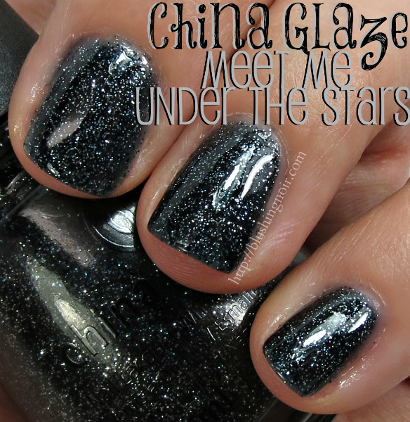 China Glaze Meet Me Under the Stars Nail Polish Swatches