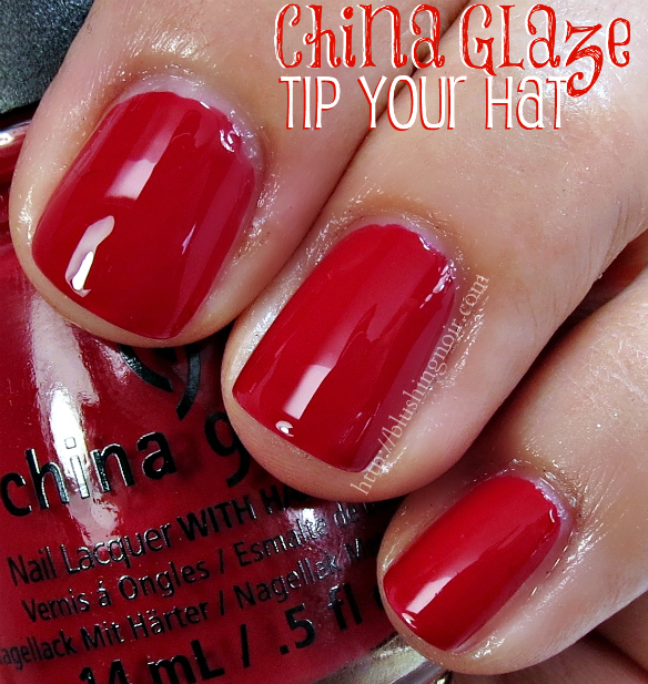 China Glaze Tip Your Hat Nail Polish Swatches