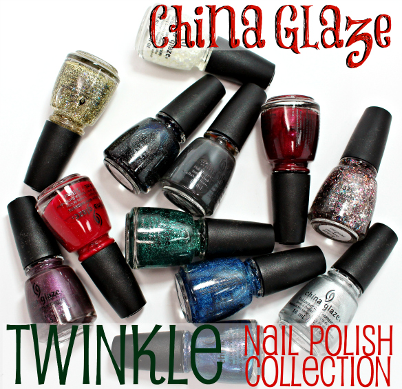 China Glaze Twinkle Nail Polish Collection Swatches