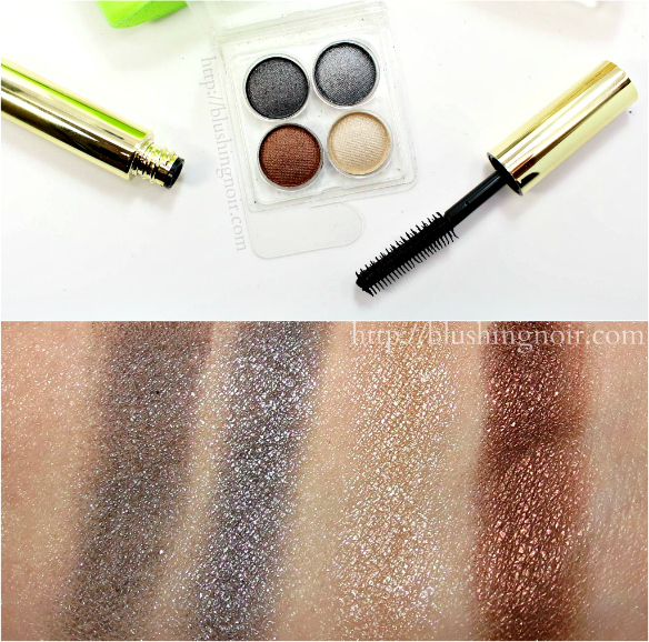 Coastal Scents Eye Shadow Palette Swatches