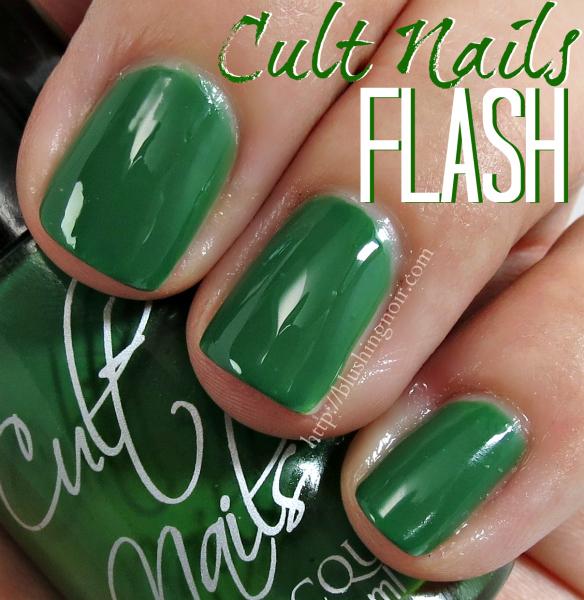 Cult Nails Flash Nail Polish Swatches