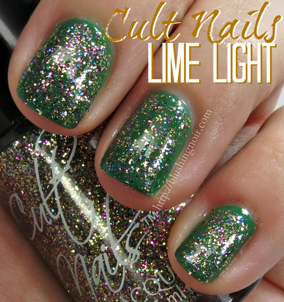 Cult Nails Lime Light Nail Polish Swatches