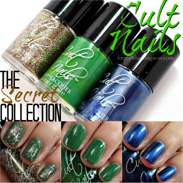 Cult Nails The Secret Collection Nail Polish Swatches + Review