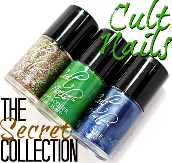 Cult Nails The Secret Collection Swatches