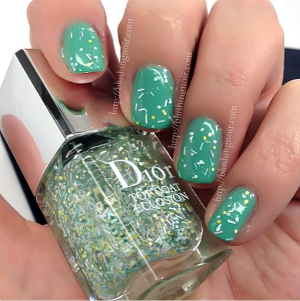 Dior Top Coat Eclosion Nail Polish Swatches Spring 2015