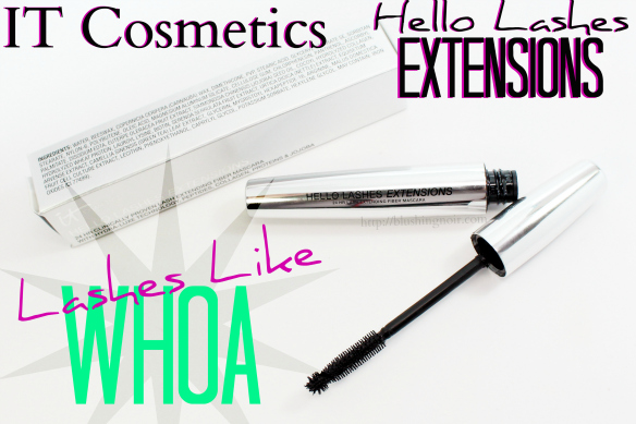 IT Cosmetics Hello Lashes Extensions Mascara Tutorial review