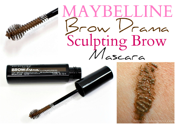 Maybelline Brow Drama Mascara review