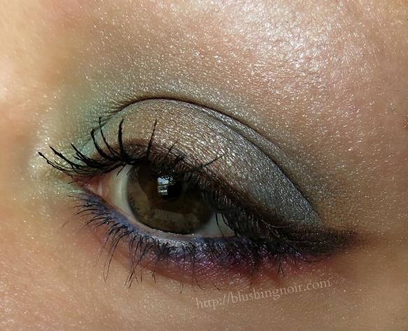 Maybelline The Brights Eyeshadow Palette eye look