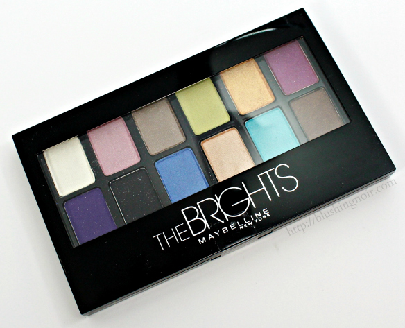 Maybelline The Brights Palette review
