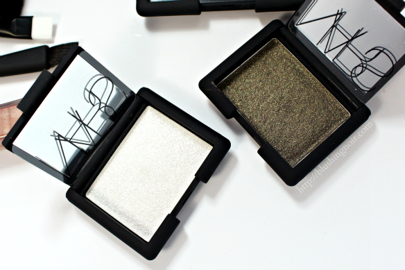 NARS Holiday 2014 Eyeshadow swatches