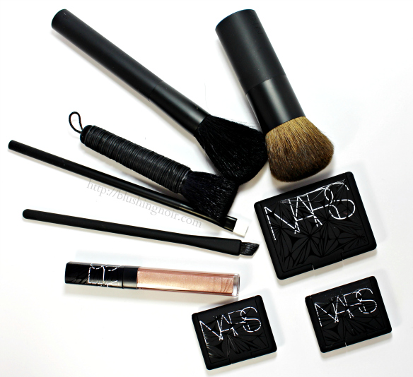 NARS Holiday 2014 Makeup Collection Review Swatches