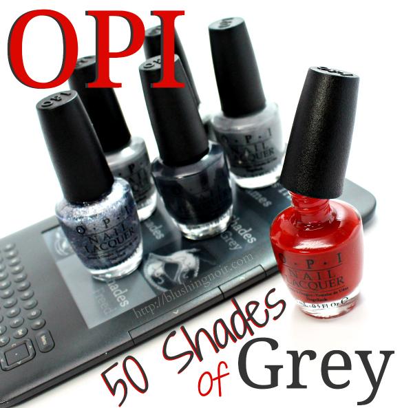 OPI 50 shades of grey nail polish movie