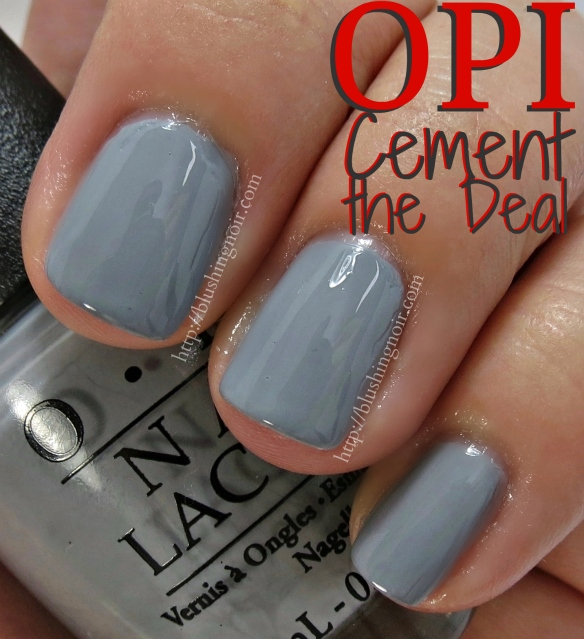 OPI Cement the Deal Nail Polish Swatches