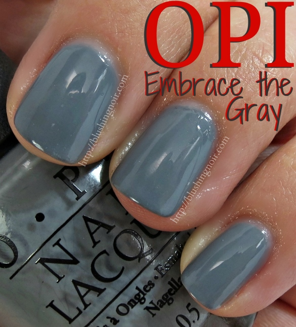 OPI Embrace the Gray Nail Polish Swatches