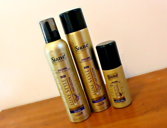 SUAVE Luxe Style Infusion Volume