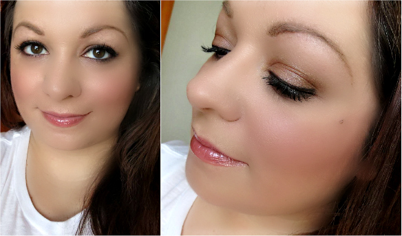 Urban Decay Naked on the Run Palette look
