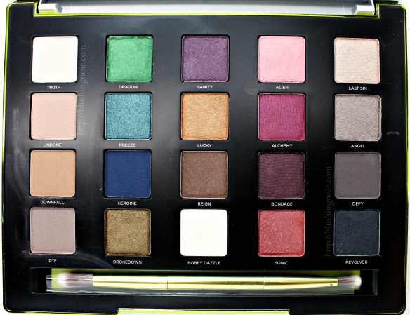 Urban Decay Vice 3 Palette Swatches Review