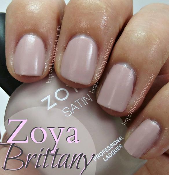 Zoya Brittany Nail Polish Swatches