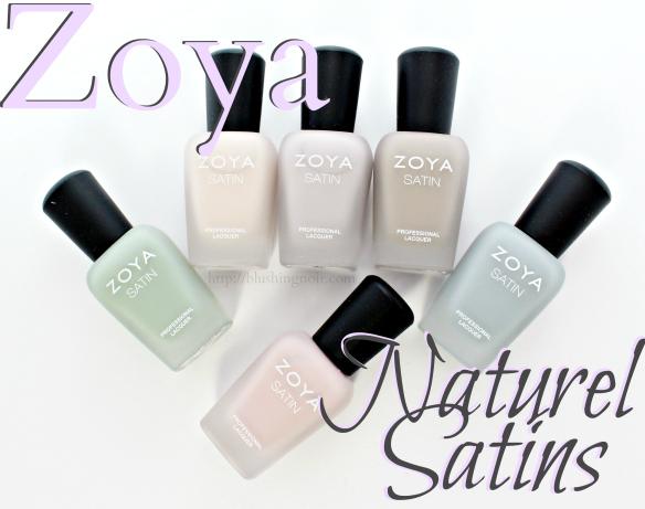 Zoya Naturel Satins Nail Polish 2015