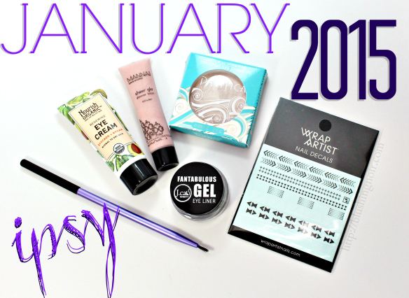 ipsy glam bag review january 2015