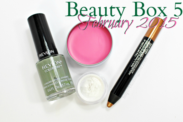 Beauty Box 5 February 2015 review