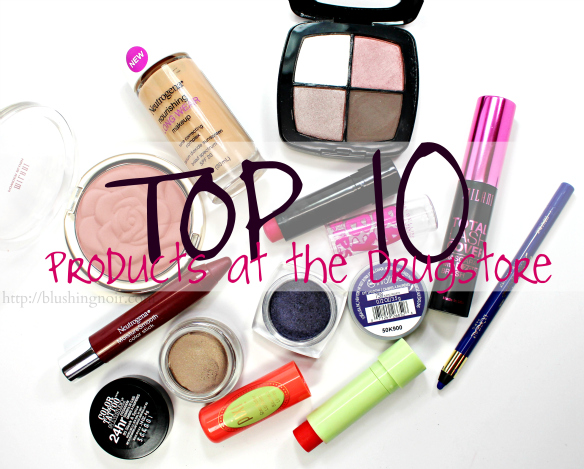 Top 10 Drugstore Makeup Products to Buy